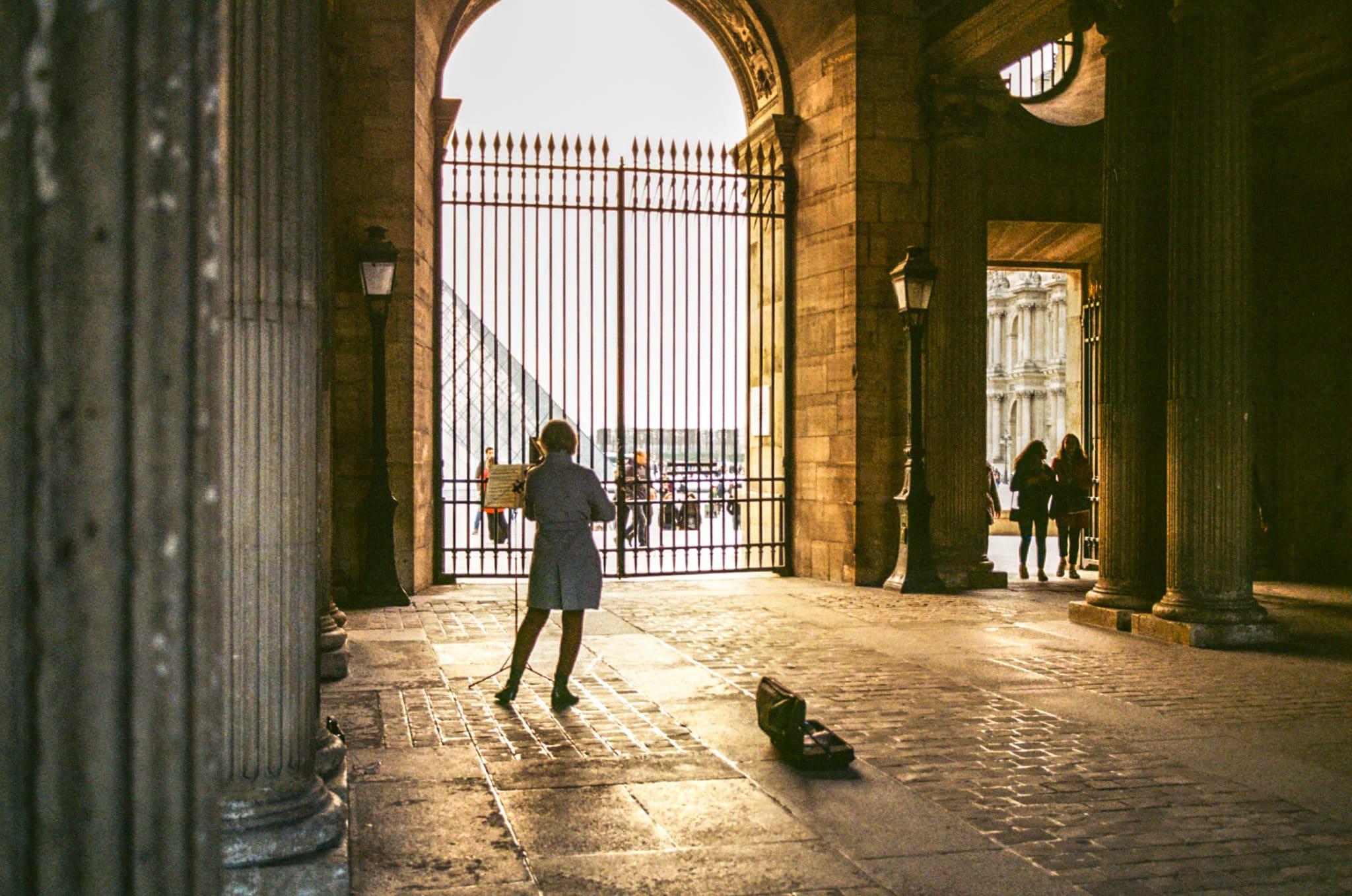 Arnaud – Photo de rue et Kodak Gold