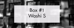 Box FIlm Mystère 1 – Washi S
