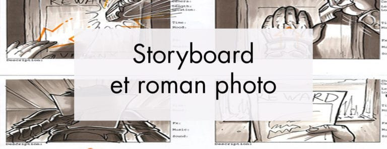 L'exercice du StoryBoard