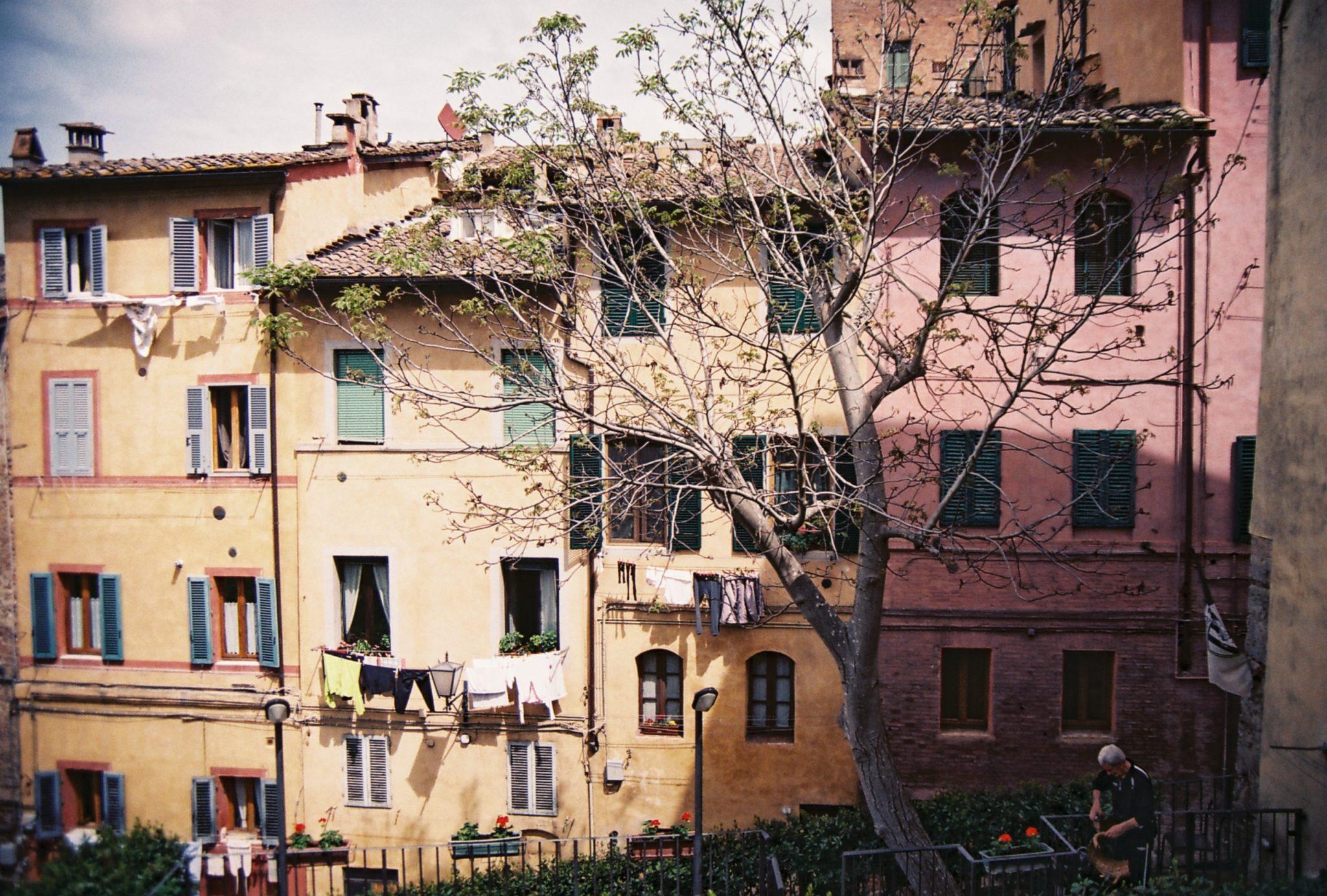 Audrey -Retour d'Italie et balade en ville.
