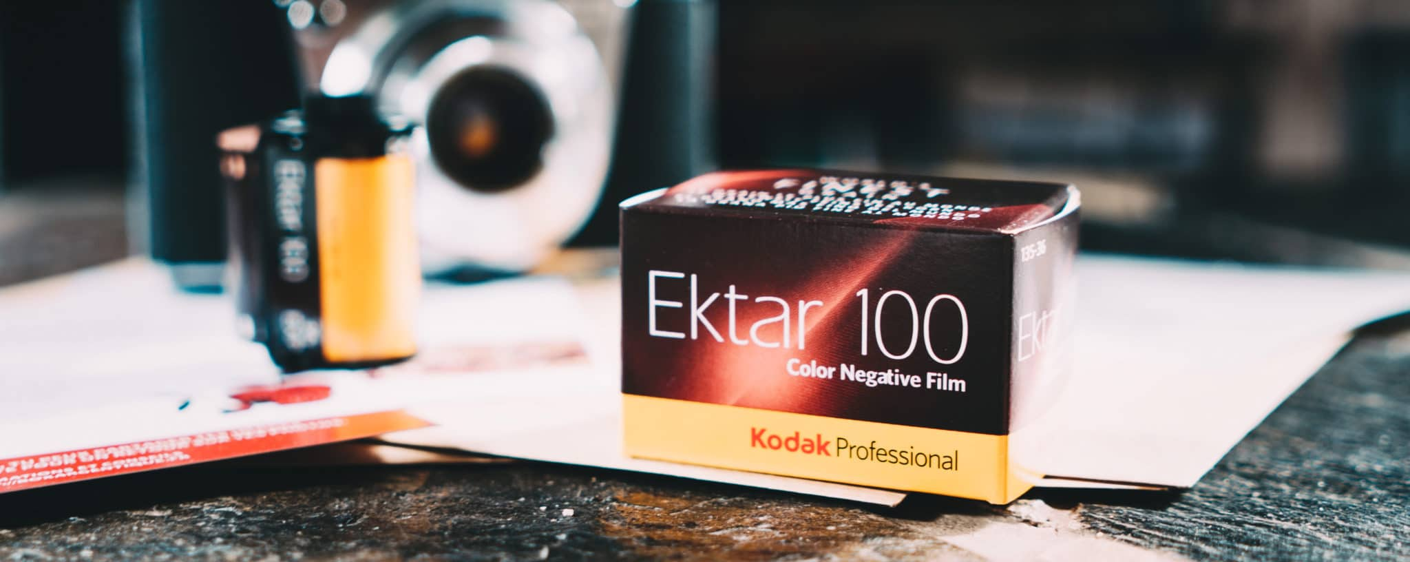 Box d'août – Kodak Ektar