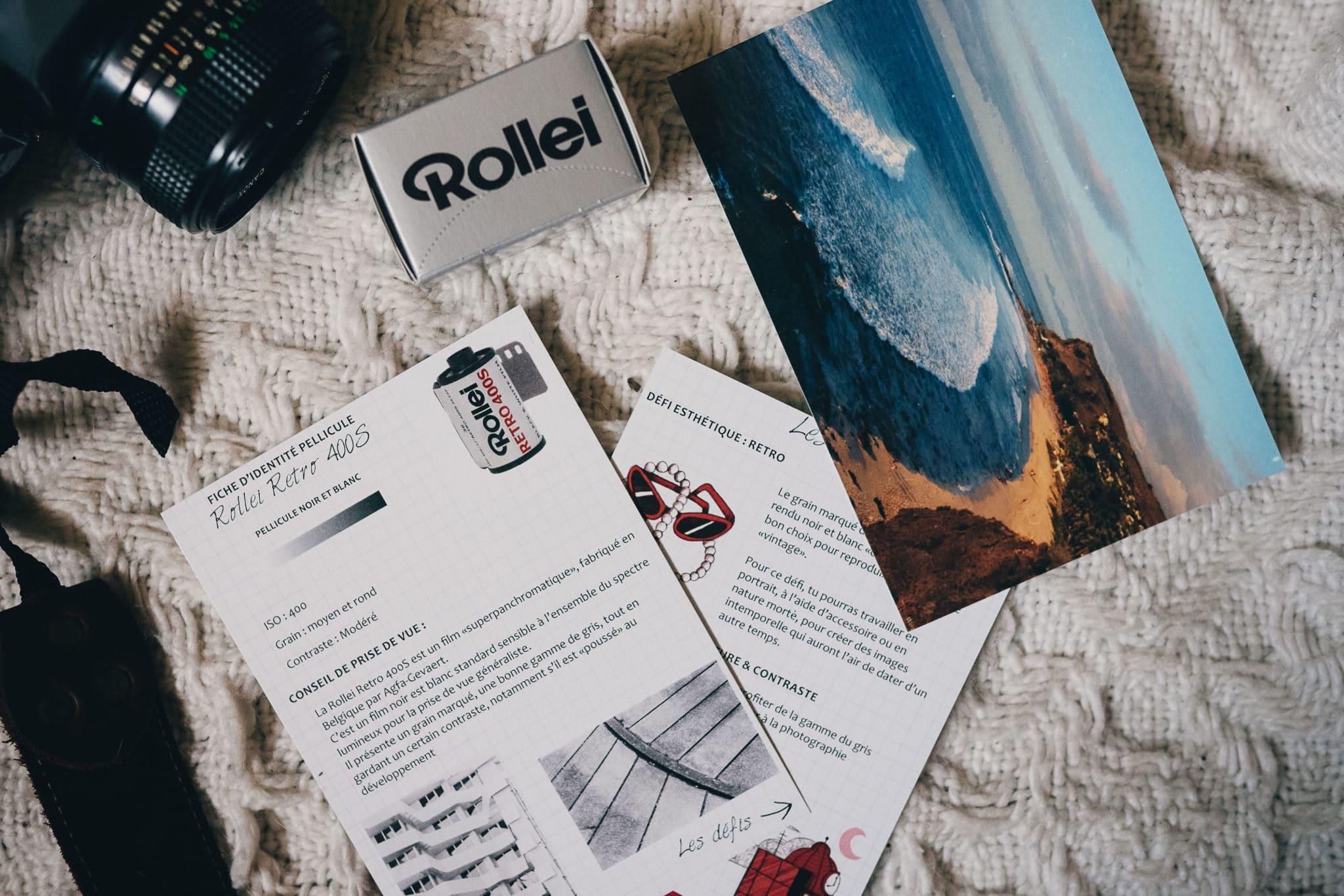 Box d'octobre 2019 – Rollei Retro 400S