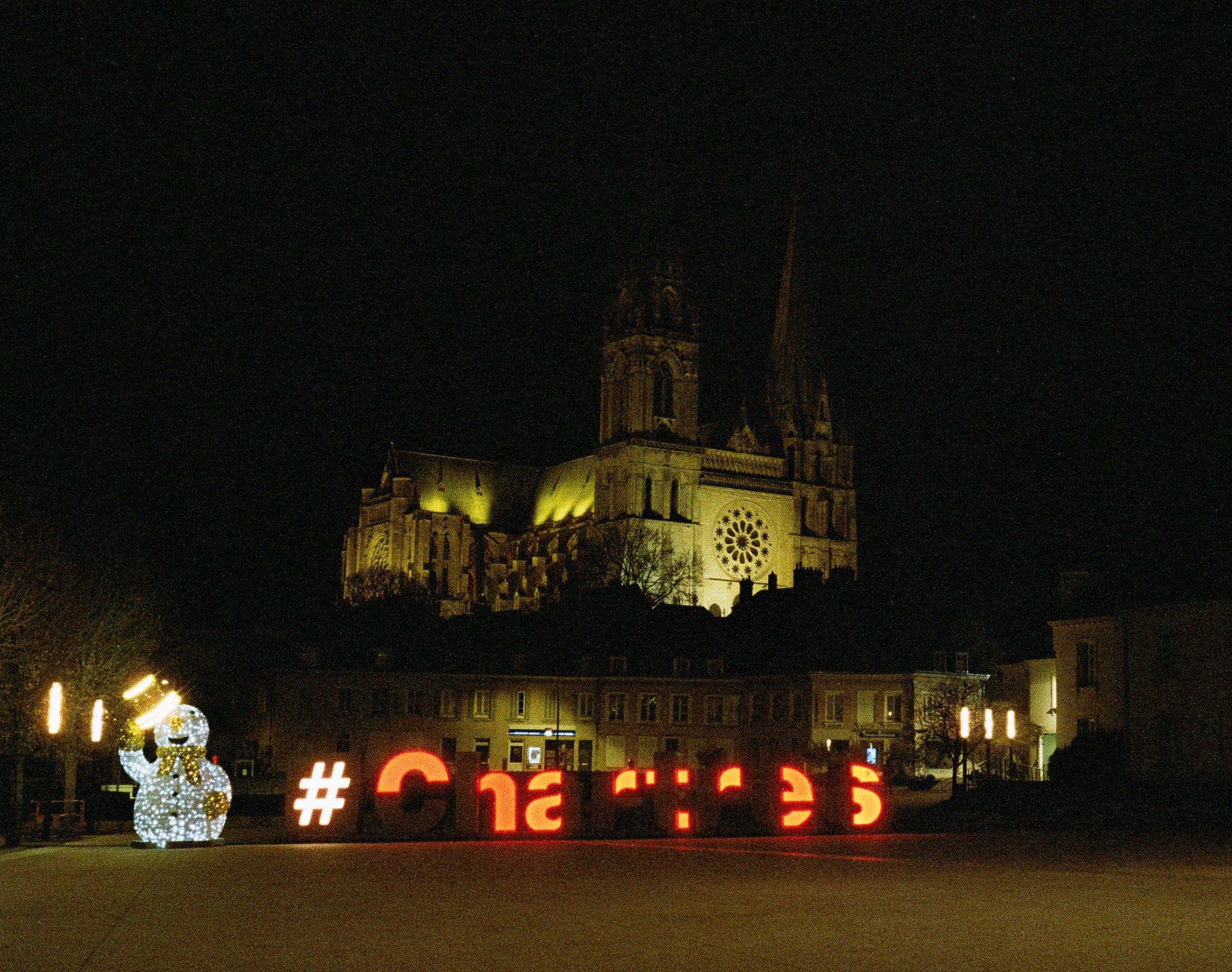 Fabrice – Chartres en nocturne