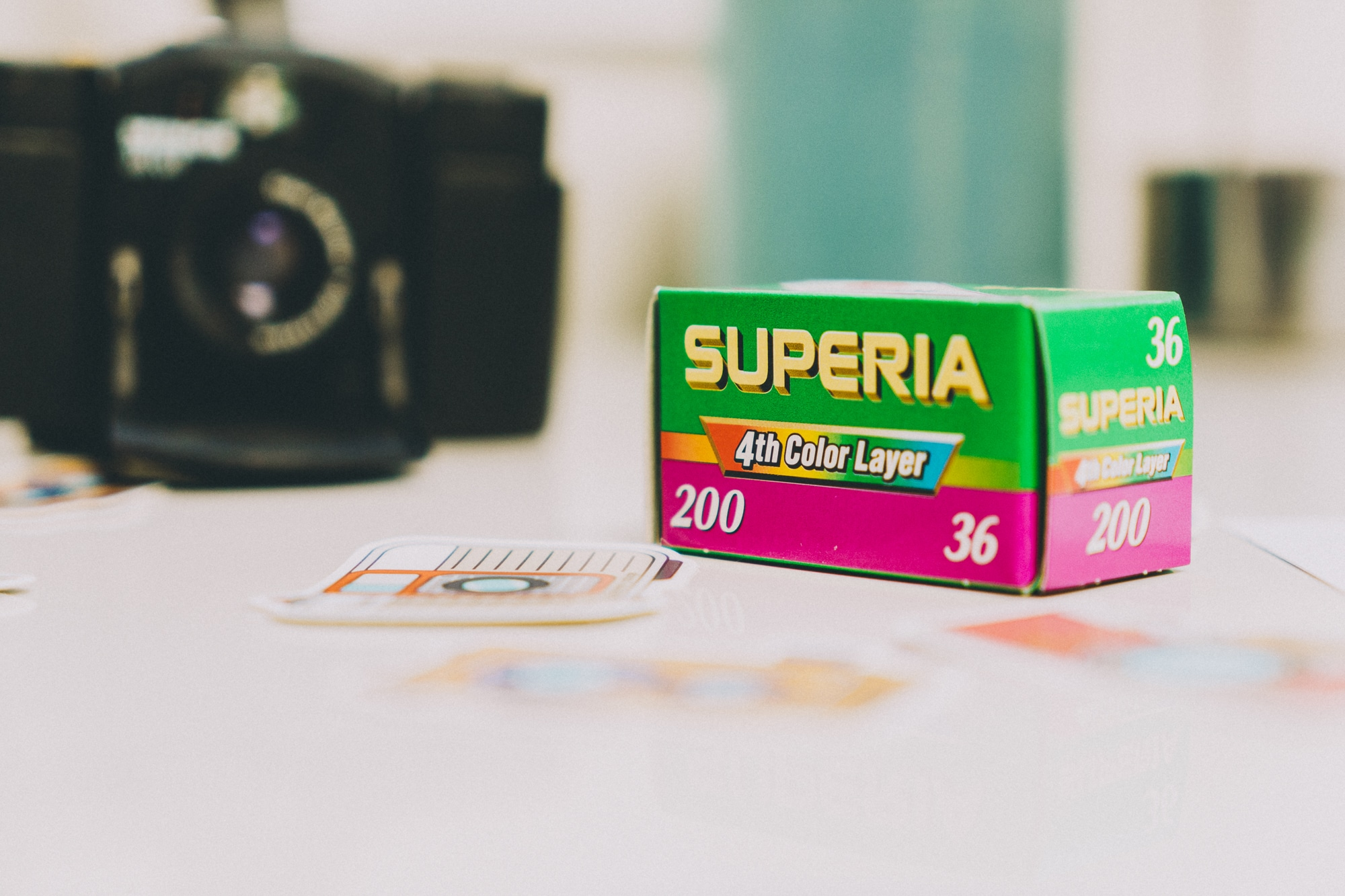 Box de juin 2020 – Fujifilm Superia 200