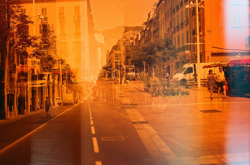 Will – Double exposition /j Fuji superia en redscale