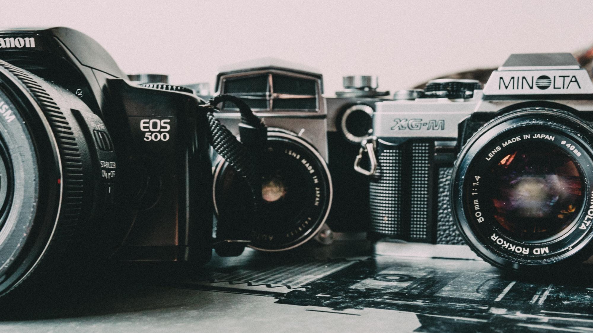 Trois appareils photos argentique pour débuter (à pas cher)