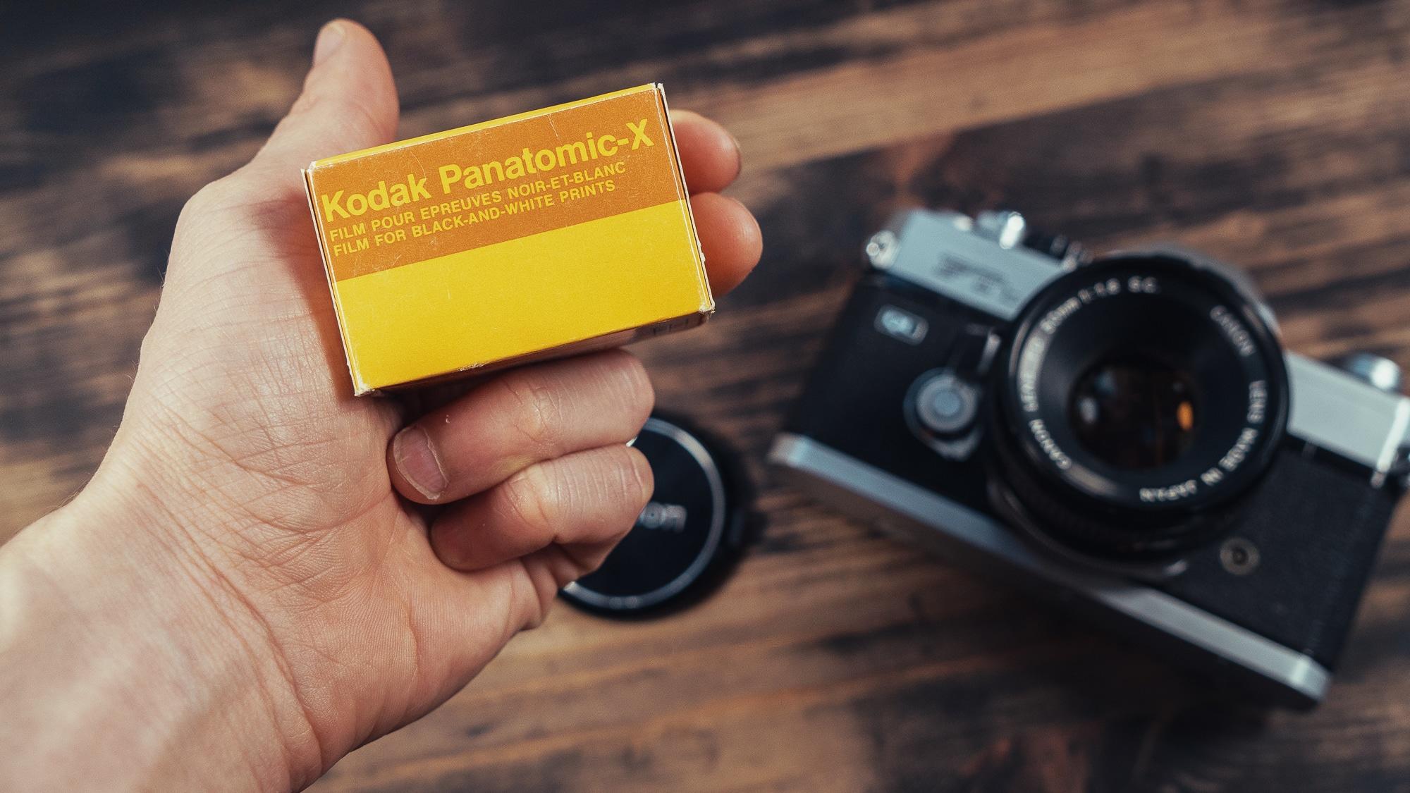 Kodak Panatomic-X : Un film de Légende !