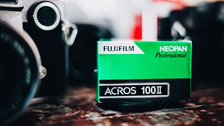 L'acros II – La dernière pellicule noir et blanc de Fujifilm