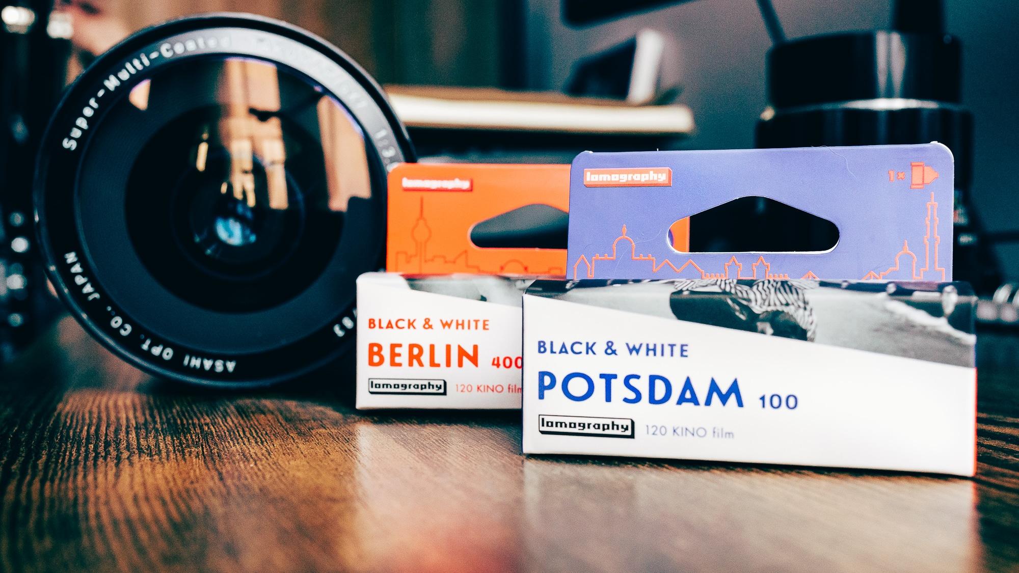 Lomography Kino   Potsdam 100 & Berlin 400