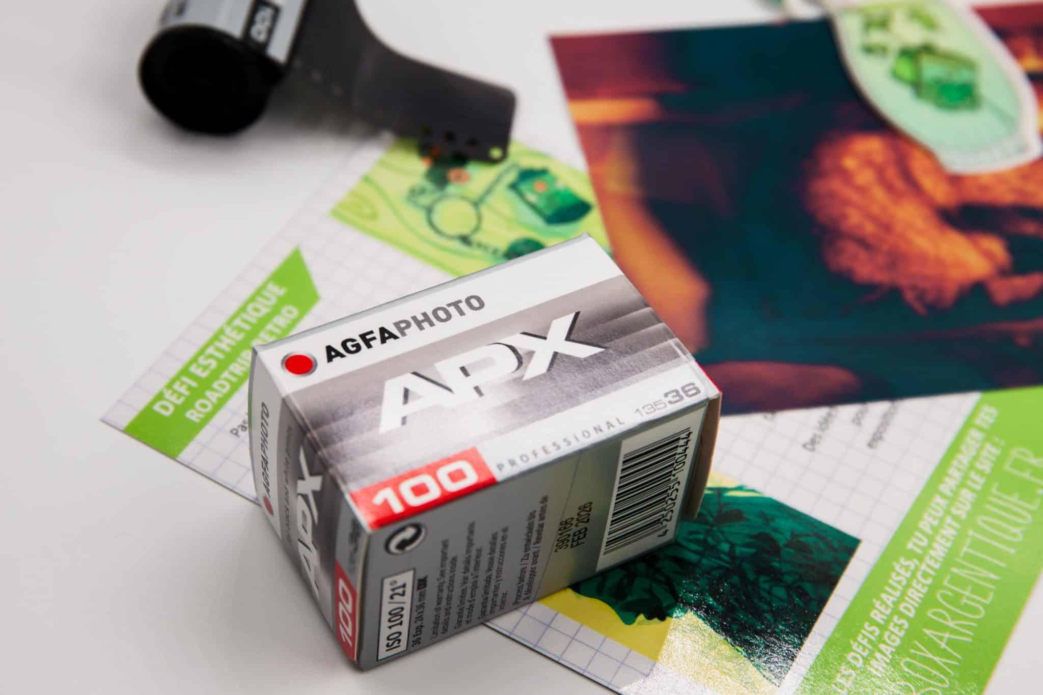 Box d'août 2021 – AgfaFoto APX 100
